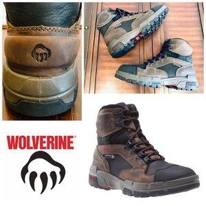 New Wolverine Men's Legend Waterproof Work Boots